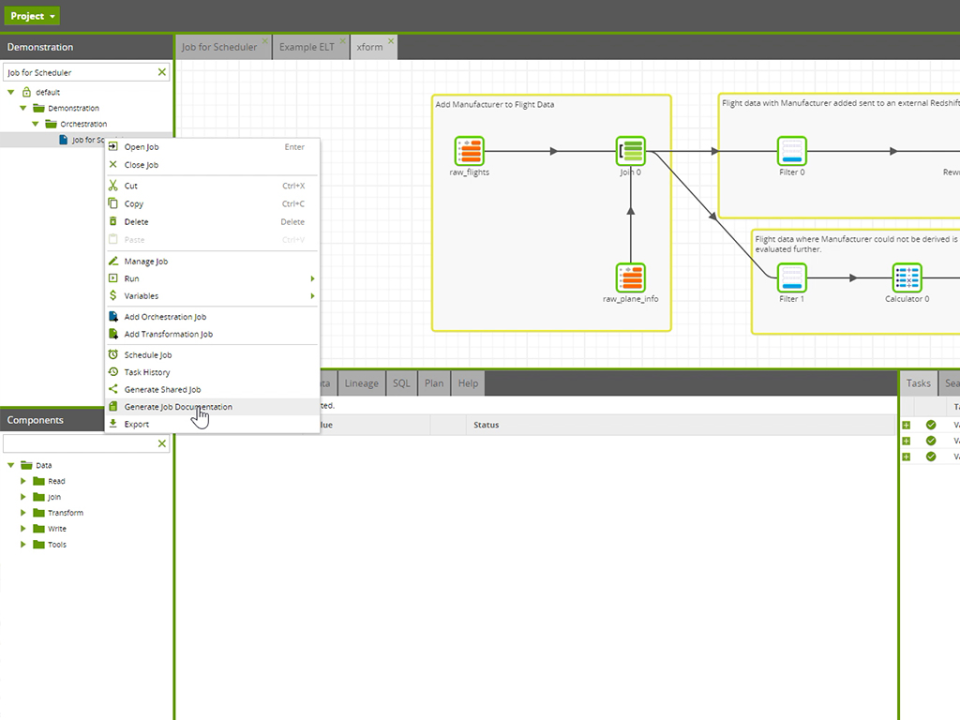 Matillion documentation screenshot