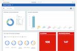 QualysGuard Enterprise screenshot: Qualys Cloud Platform dashboard