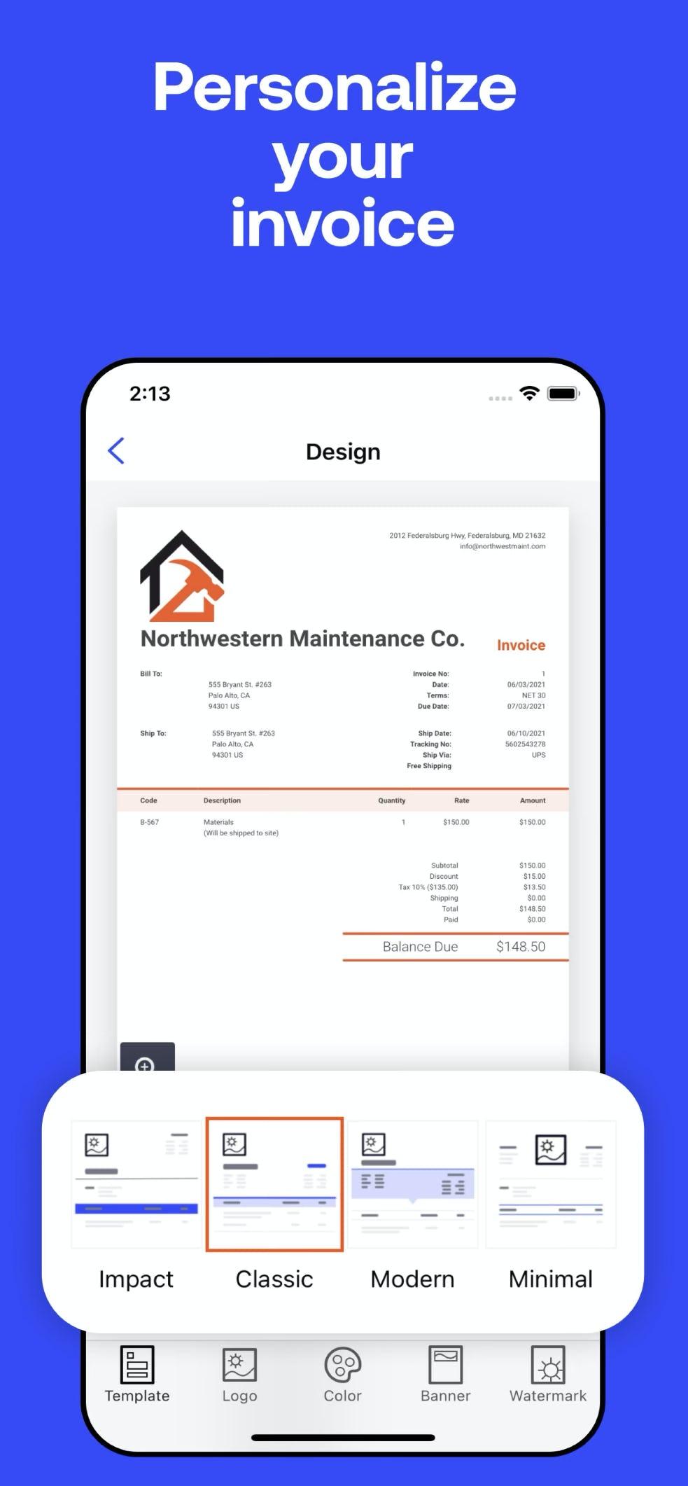 Invoice2go Software - 5