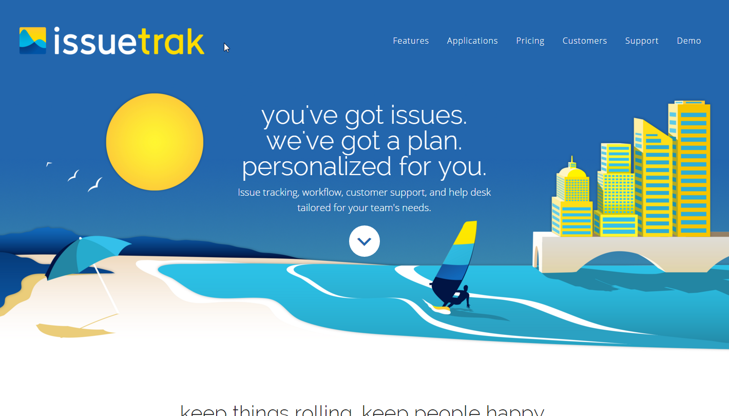 Issuetrak Homepage