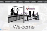 PINpoint screenshot: PINpoint V5 MES Welcome Screen (PINpoint Portal/Home Website). The PINpoint Portal features various apps in the top menu; a broad toolset of manufacturing execution tools that's all-encompassing to maximize quality an efficiency.