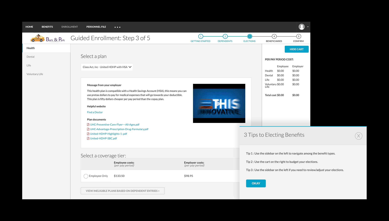 BerniePortal Software - Benefits administration