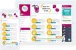 Social&Loyal screenshot: Gamified loyalty programs for desktop and mobile