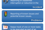 Cherwell Service Management screenshot: Cherwell is also accessible through mobile apps for Android and iOS