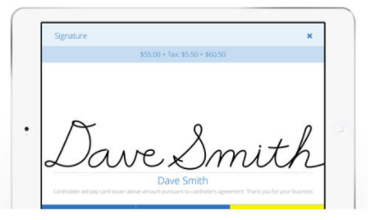 Capture digital signature