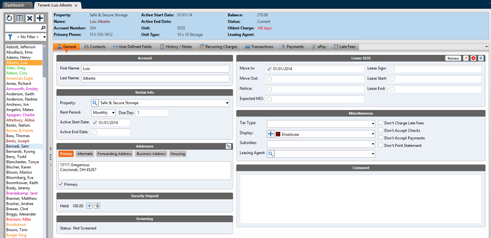 Rent Manager Software - 2