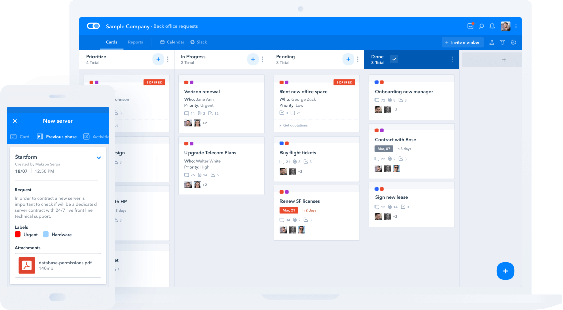 Pipefy Multiple devices