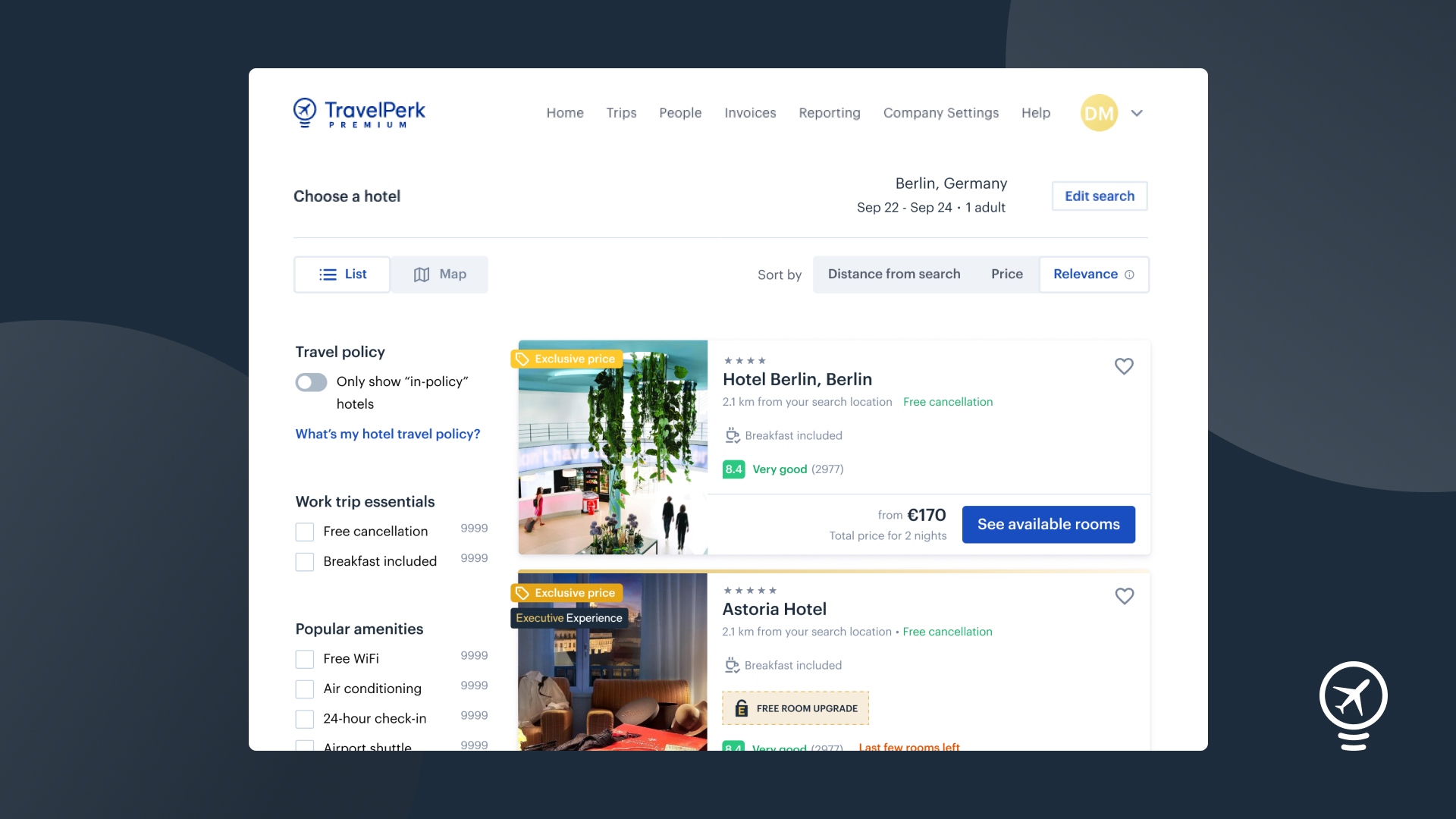 Hotels, Flights, Trains and Car Rental booking, made simple. Access a wide range of accommodation and transport options, including special rates and popular inventory like Airbnb.