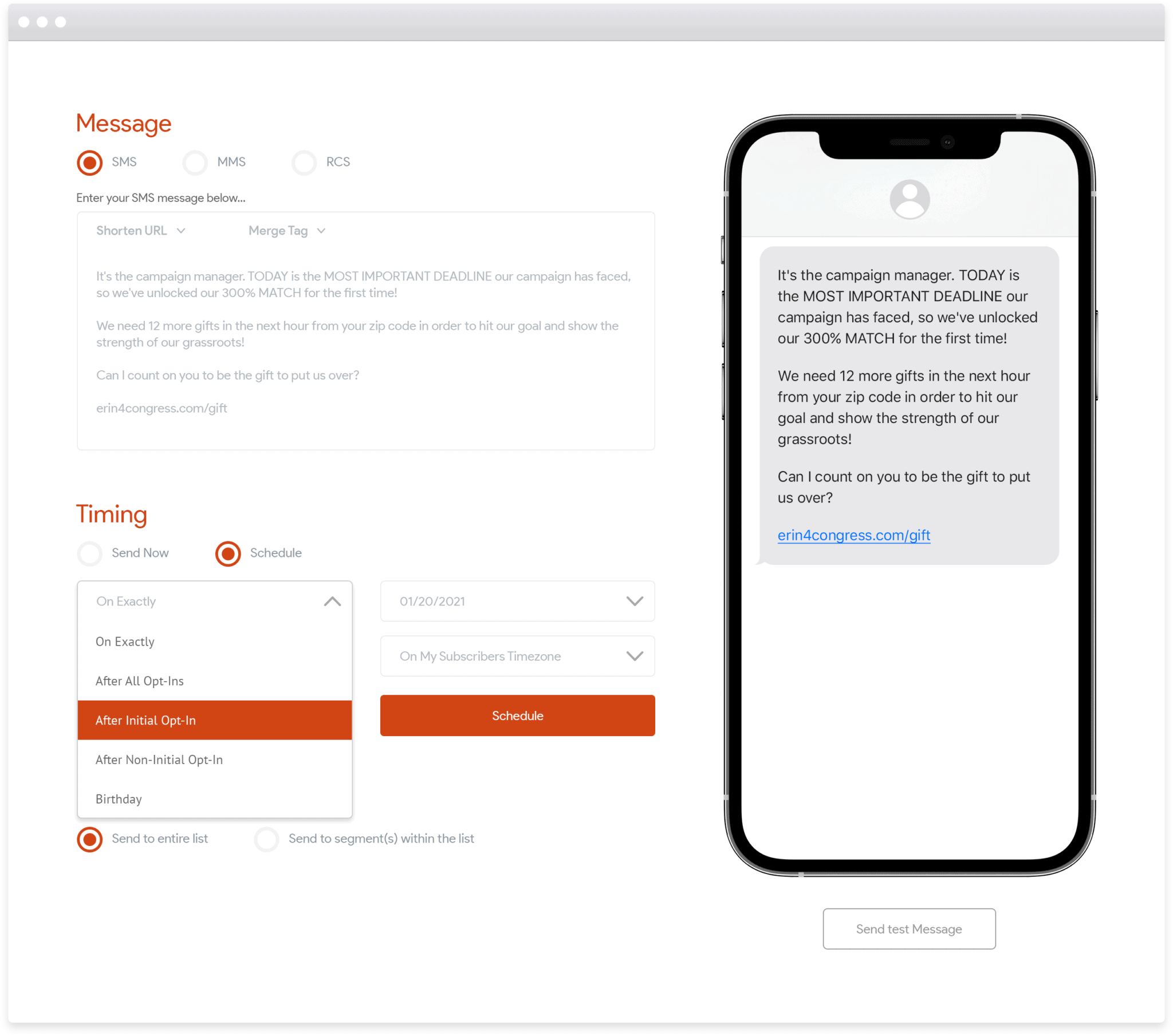 Messaging Automation