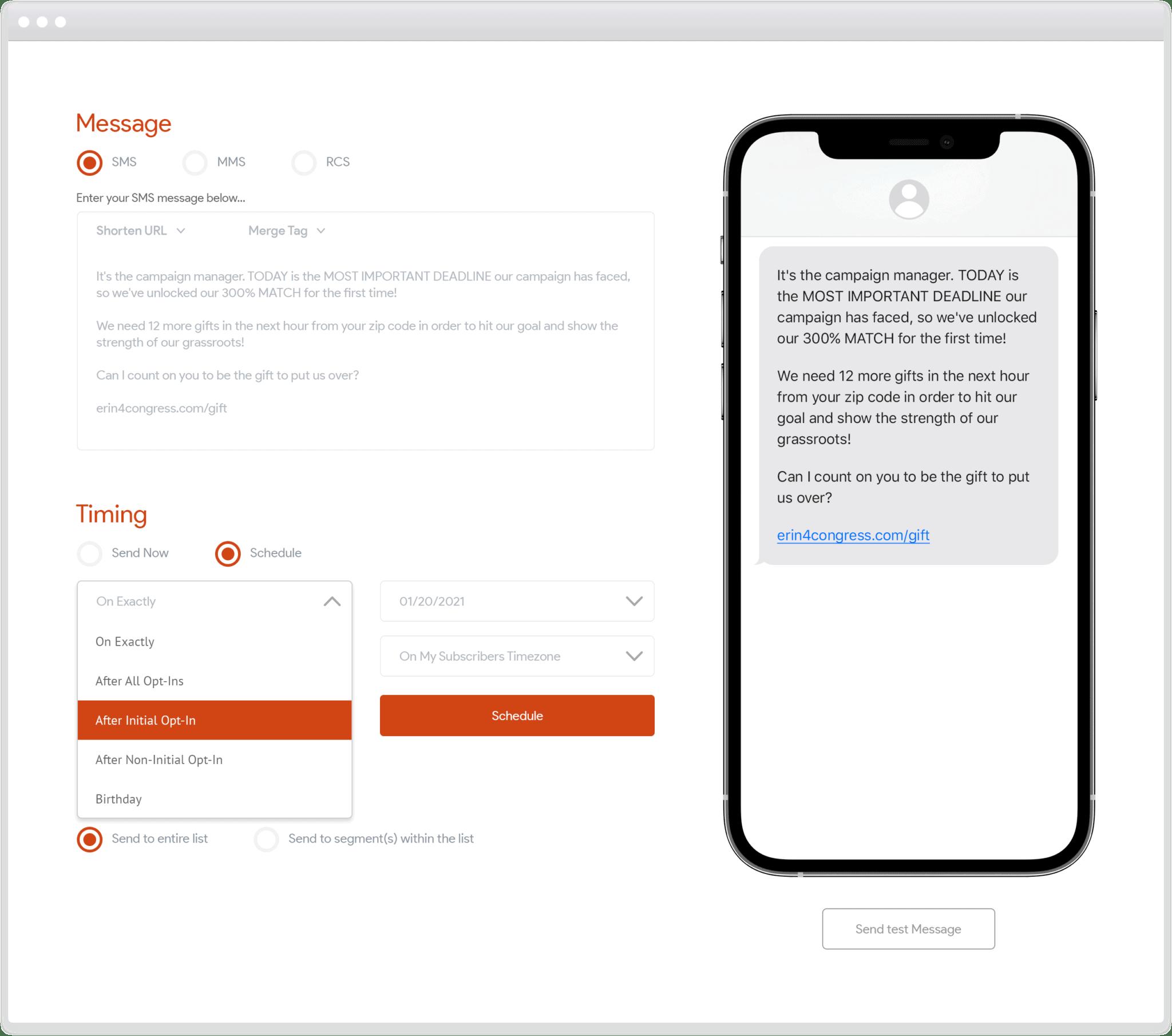Tatango Software - Messaging Automation