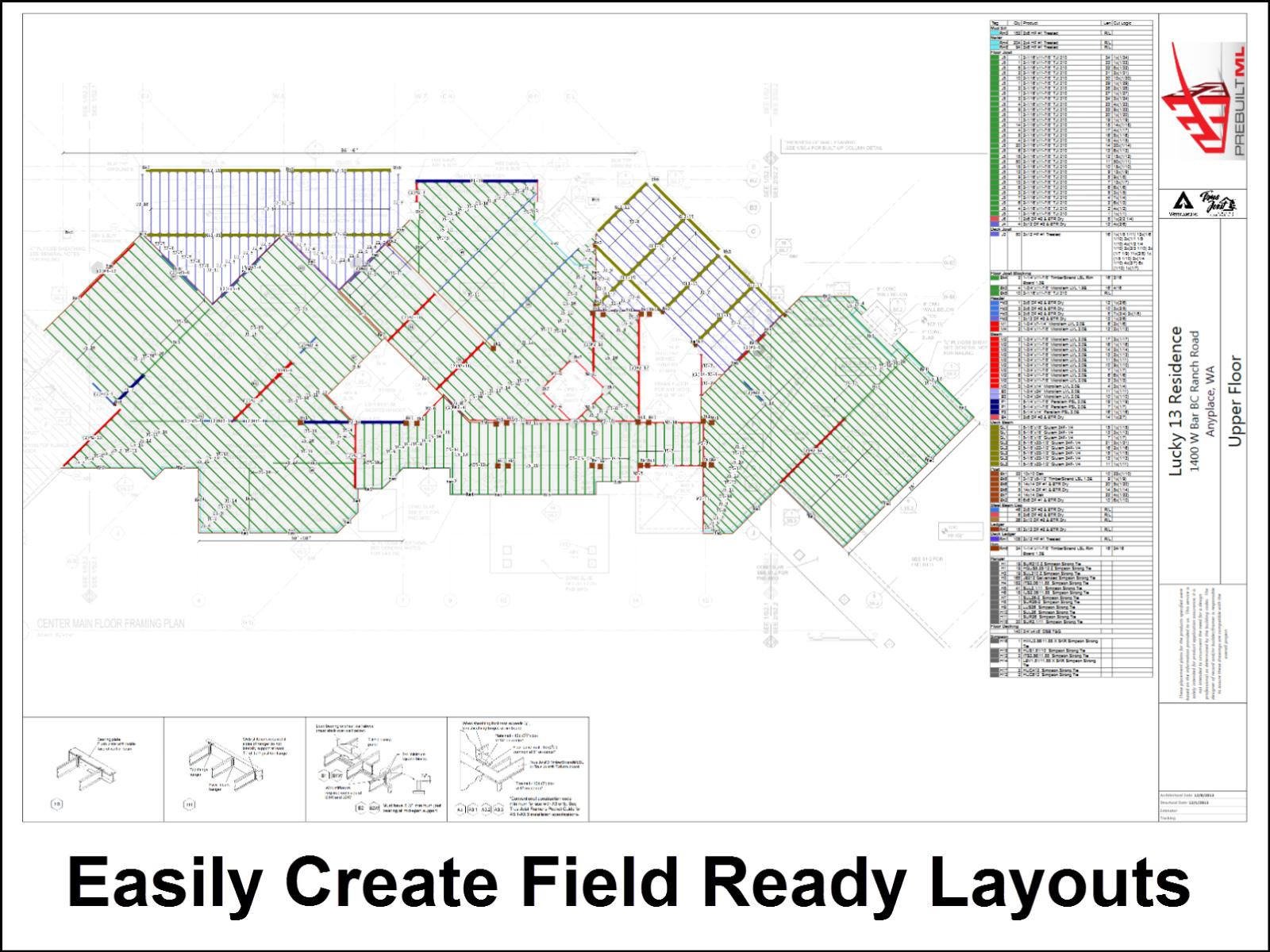 PrebuiltML Software - Create layouts