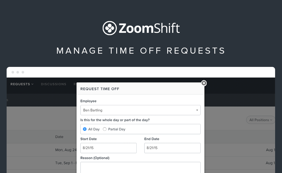 Manage Time Off Requests