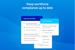 Sine screenshot: Keep contractor and visitor compliance up to date in real time