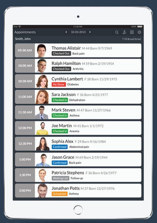 CureMD - Mobile App Avalon for documenting on EHR