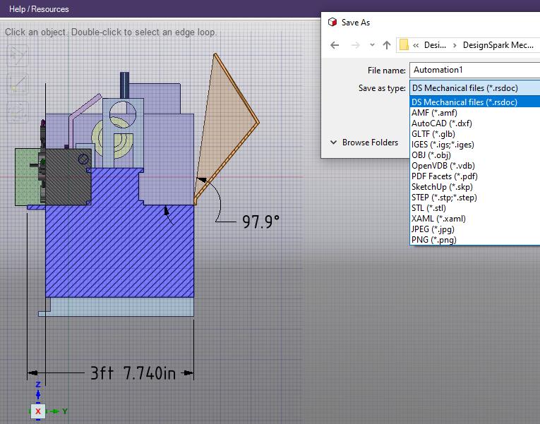 DesignSpark Mechanical Software - 1