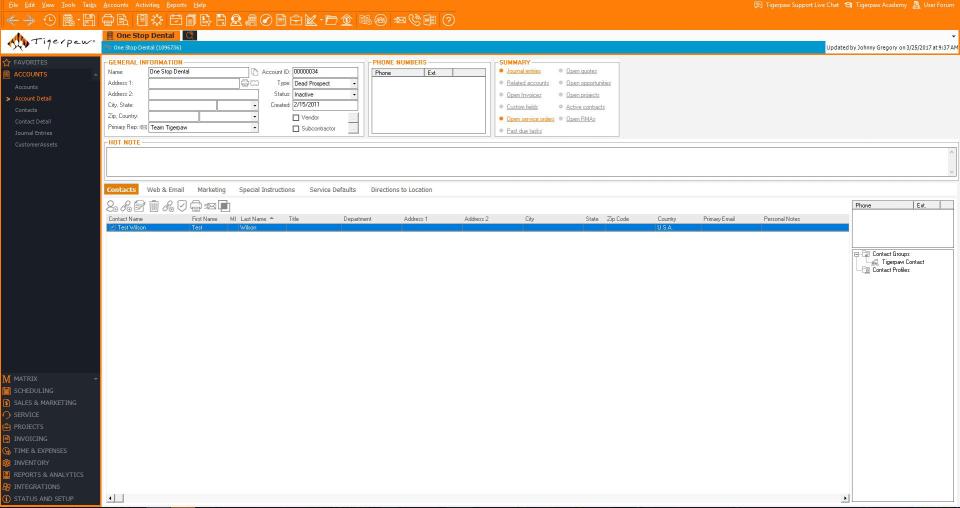Tigerpaw Software Software - 1