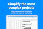 FinancialForce PSA screenshot: Project planners