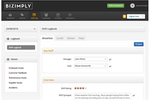 Bizimply screenshot: Keep track of day to day issues in all locations and communicate shift information