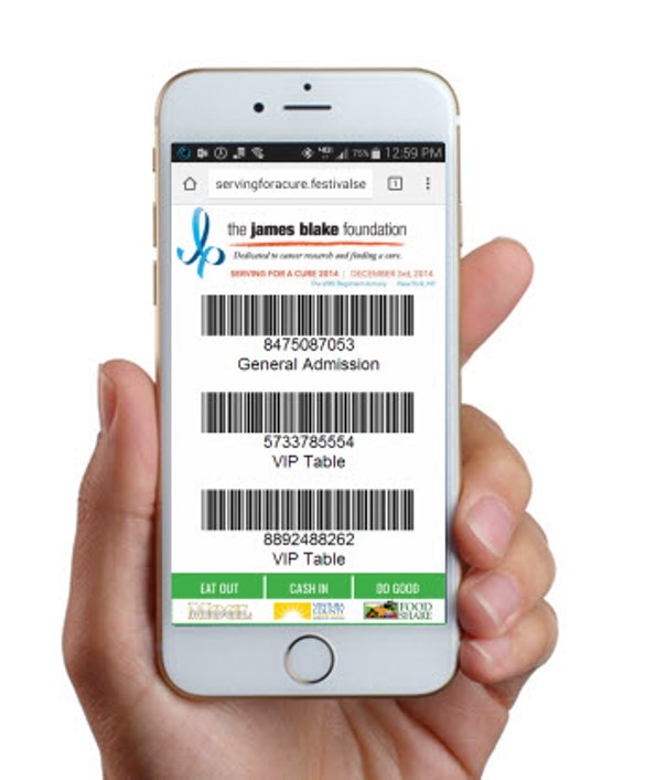 Mobile ticket redemption with barcodes and QR codes