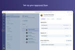 Capture d'écran pour Rydoo : Set up your approval flow