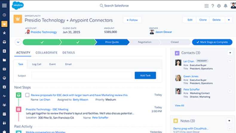 Health Cloud Software - Salesforce Health Cloud price quote screenshot