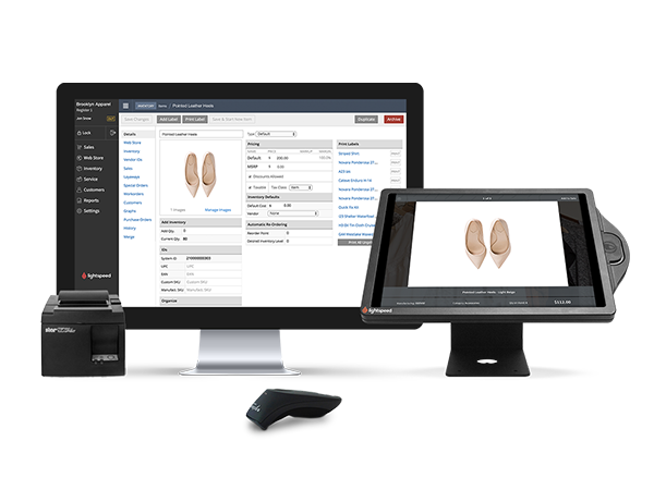 Lightspeed Retail POS is a complete point of sale and inventory management tool that's easy to set up and even easier to use. It simplifies time-consuming tasks like inventory and employee management, so you can focus on your customers and growth.