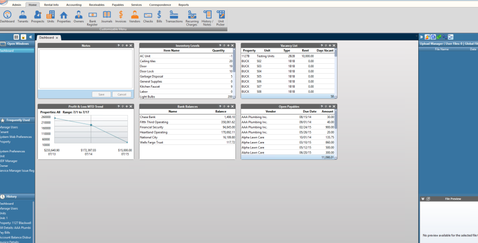 Rent Manager Software - 1
