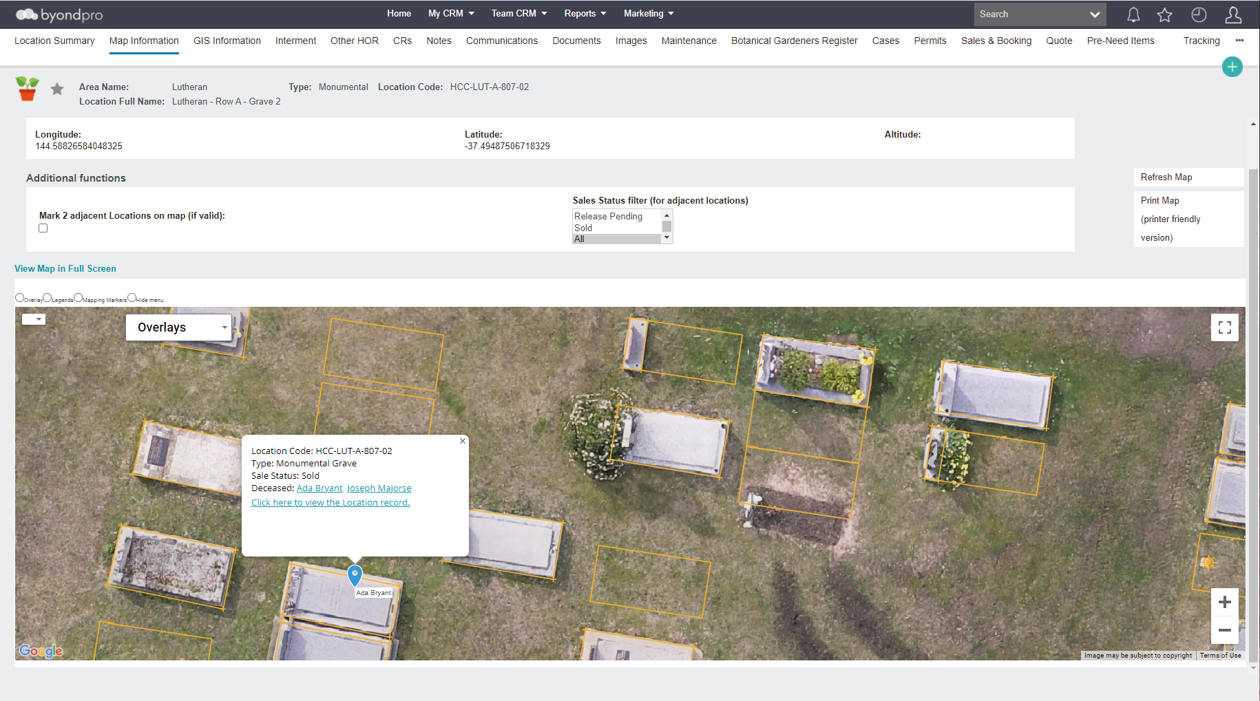 byondpro screenshot: byondpro cemetery inventory screen