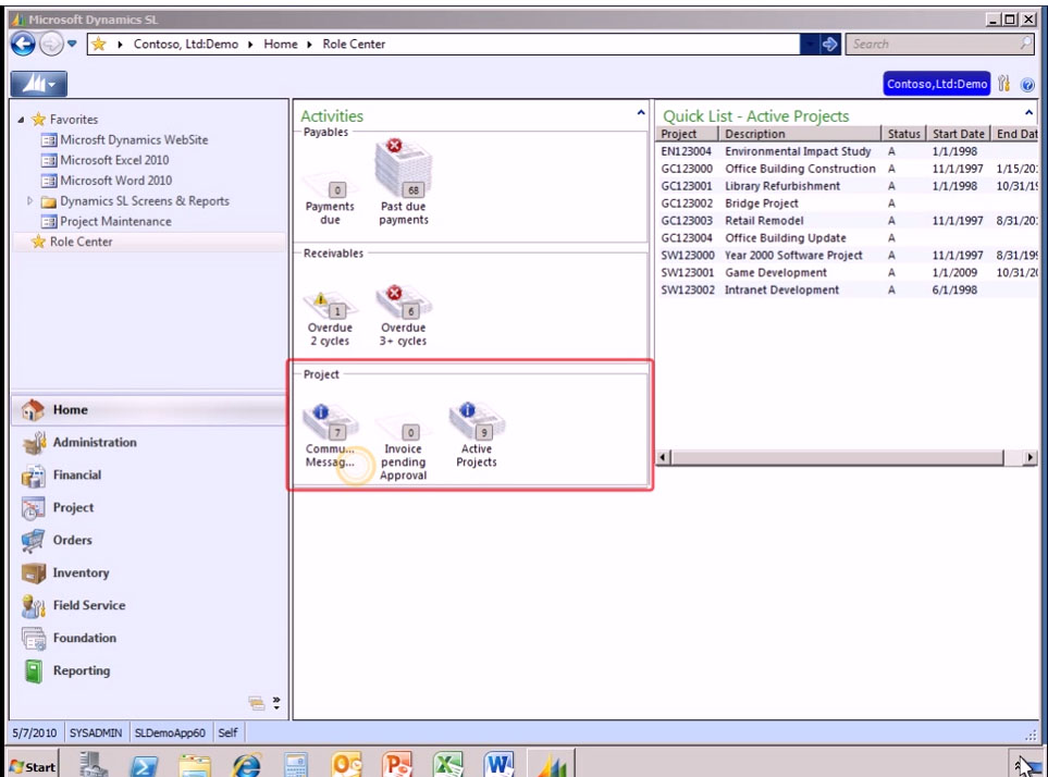 Microsoft Dynamics SL Software - 7