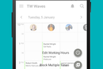 Treatwell Connect screenshot: Edit the calendar, salon opening times, price lists, and more within the app