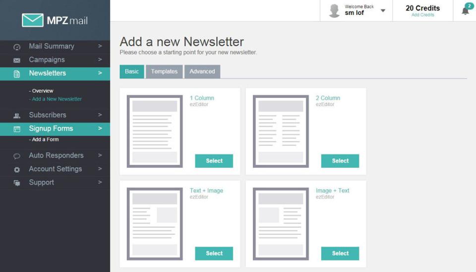 Newsletter management
