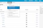 Capture d'écran pour CS-Cart : CS-Cart admin panel user interface