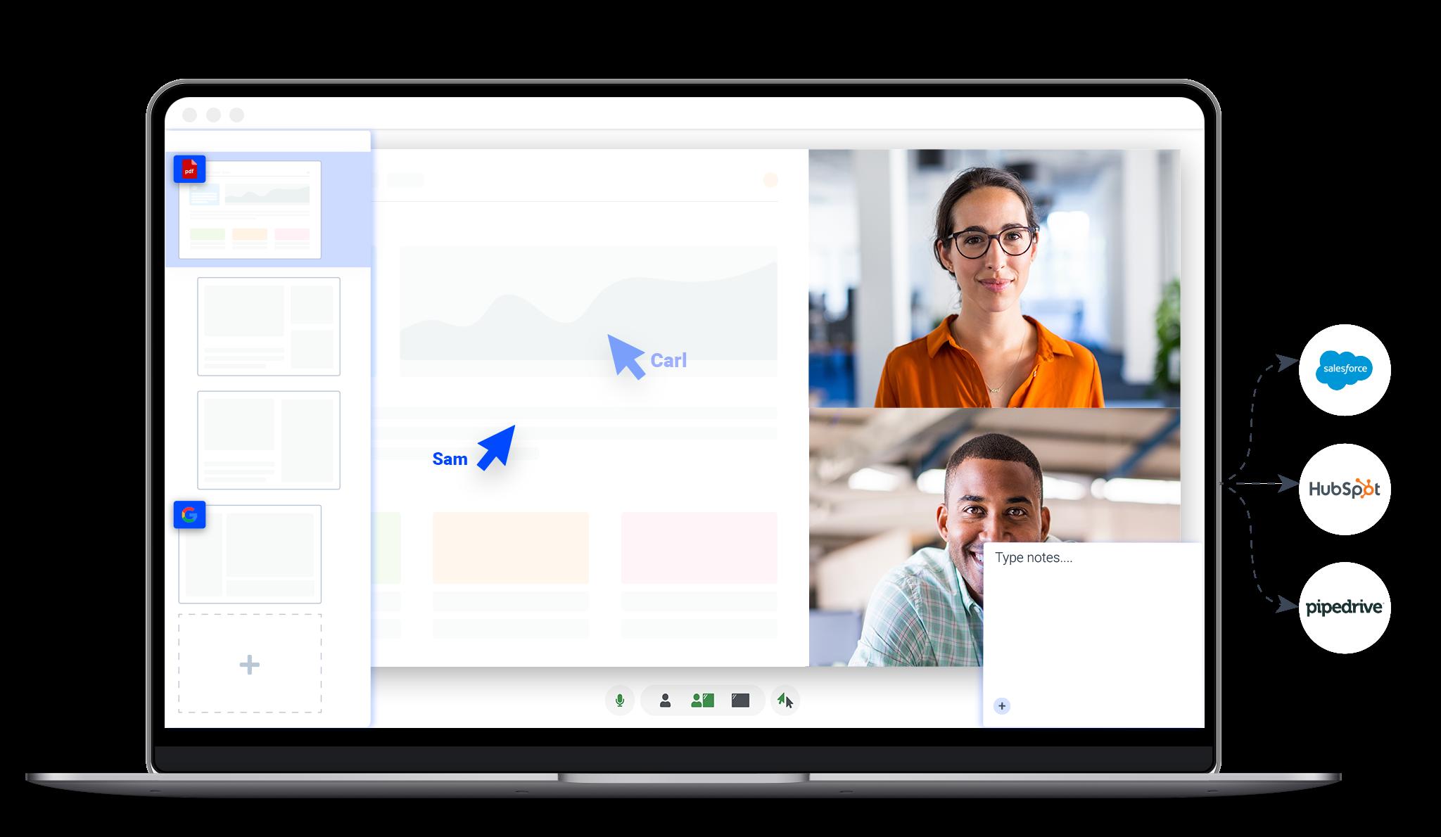 DemoDesk Video Conferencing