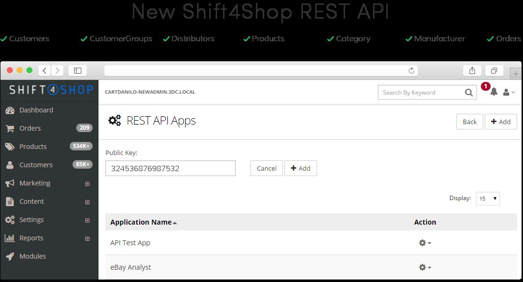 Shift4Shop Software - 3
