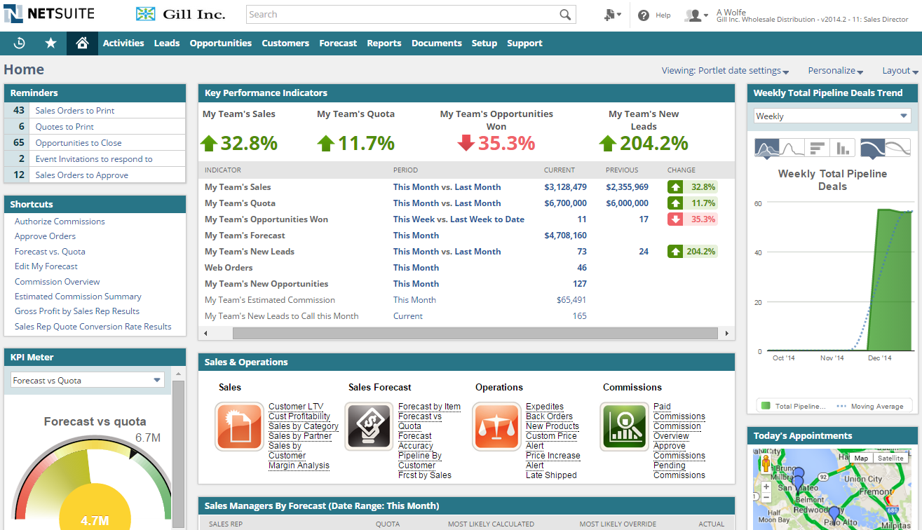 NetSuite CRM Software - 1