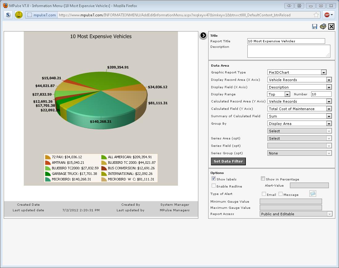 MPulse Software - Reports