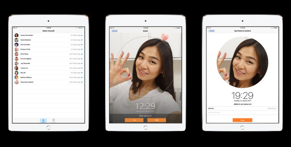 iPad Kiosk for Attendance