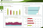 Dundas BI screenshot: Visualize the data you need for faster insights and better decisions