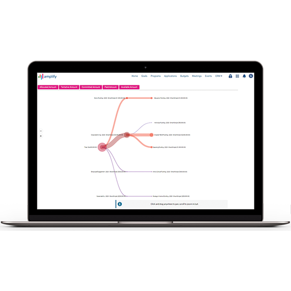 Manage budgets and grant payments with workflows to save you and your team time.