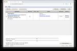 Connex screenshot: Connex application progress