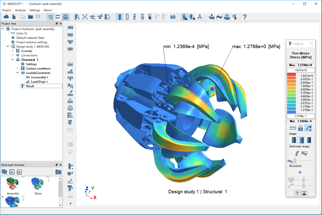 SimSolid - structural analysis