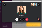 Slack Screenshot: Slack voice or video calls