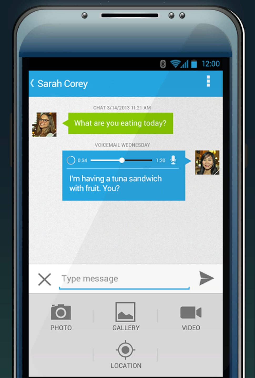 Cloud Phone Software - Android visual voicemail