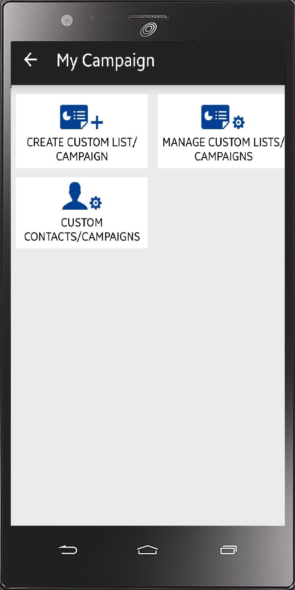 Campaign module