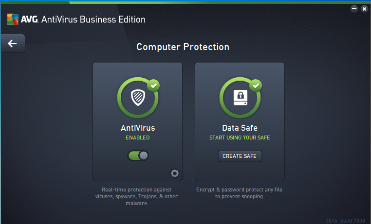 Nebale AntiVirus for real-time protection and protect data with Data Safe