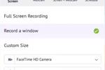 Capture d'écran pour Vmaker : Vmaker screen recording