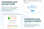 Captura de pantalla de Nicereply: Trigger surveys after resolving a ticket in your helpdesk. See customer feedback in the same ticket afterwards.