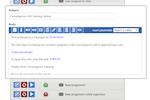Convergence LMS screenshot: Customize notification templates