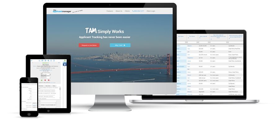 Cloud-based and Responsive (Modern browsers/mobile devices)