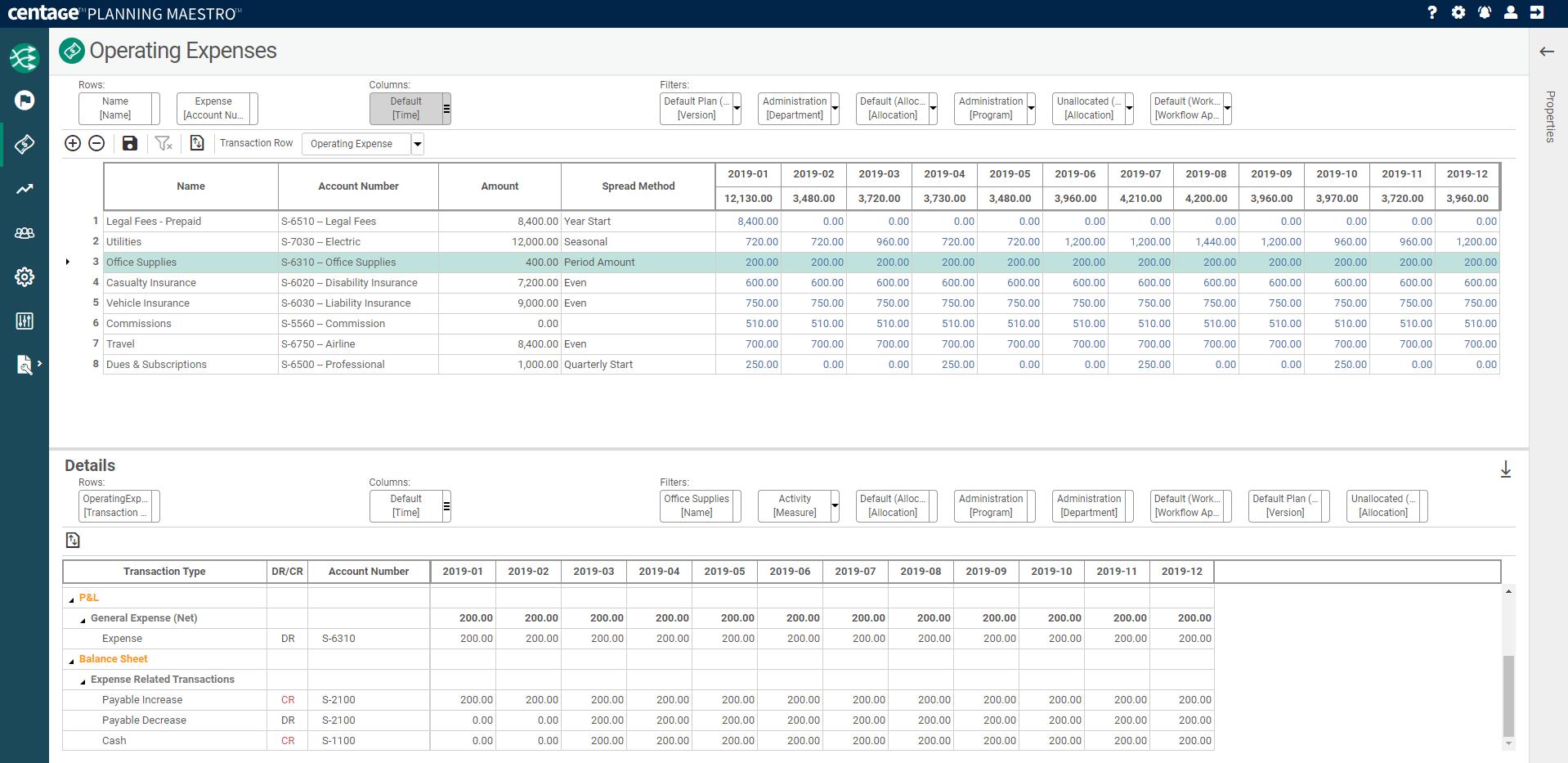 Planning Maestro Software - Formula Free Intelligence